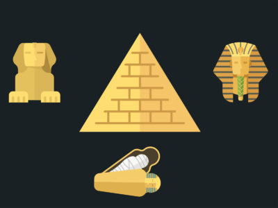 Ancient Egypt Ruin PPT Templates