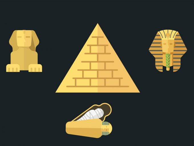 Ancient Egypt Ruin PPT Backgrounds