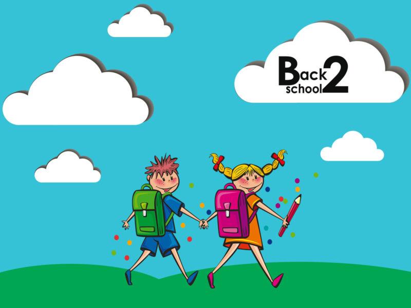 Children Back to School Powerpoint Background