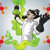 Crazy Scientist Powerpoint Templates
