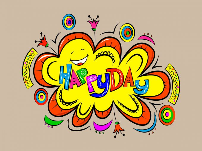 Happy Day PPT Backgrounds