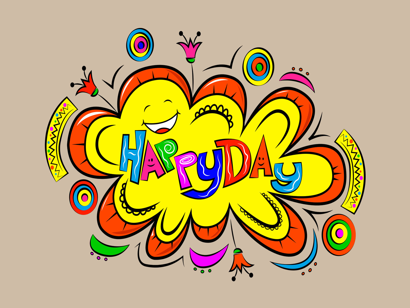 Happy Day Powerpoint Background
