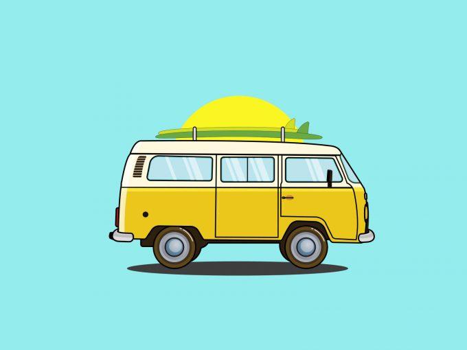 Holiday Transportation PPT Backgrounds