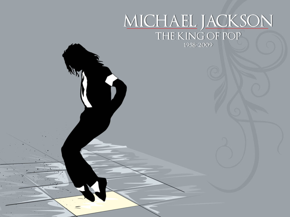 King of pop micheal jackson backgrounds music templates free ppt normal resolution toneelgroepblik Images