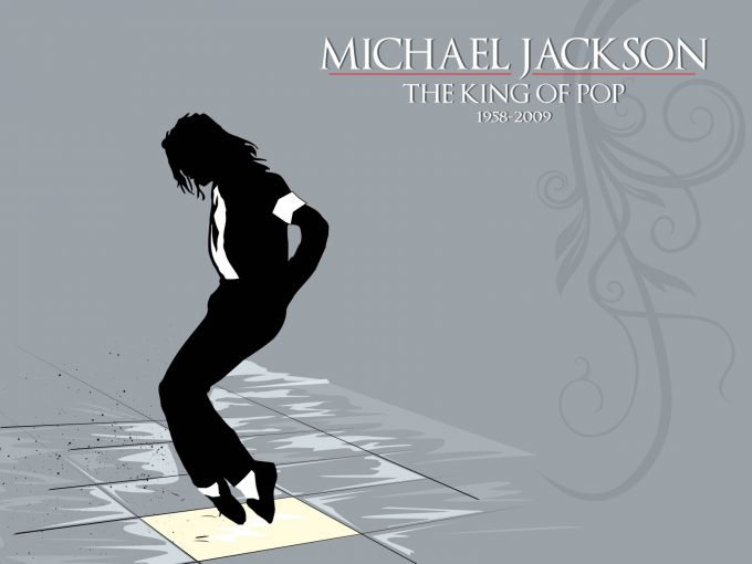 King of Pop Micheal Jackson PPT Backgrounds