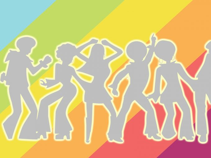 People Dancing PPT Backgrounds