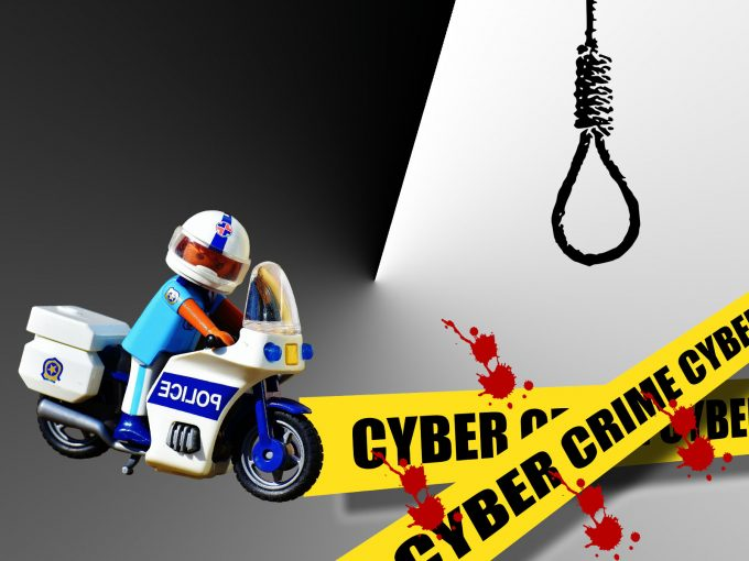 Police Cyber Crime PPT Backgrounds