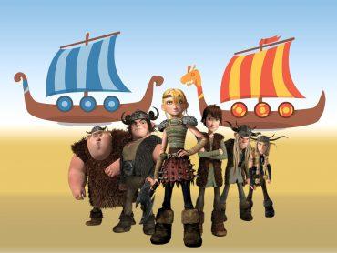 Vikings and Ship