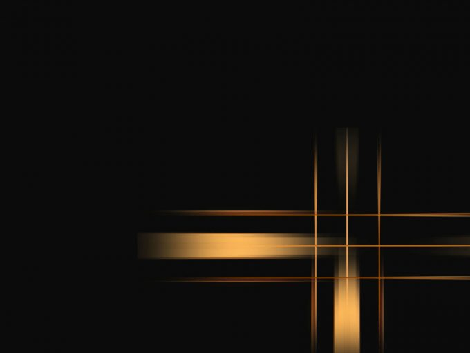 Abstract Gold Lines PPT Backgrounds