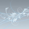 Abstract Swirls Flowers PPT Templates