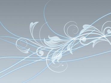 Abstract Swirls Flowers