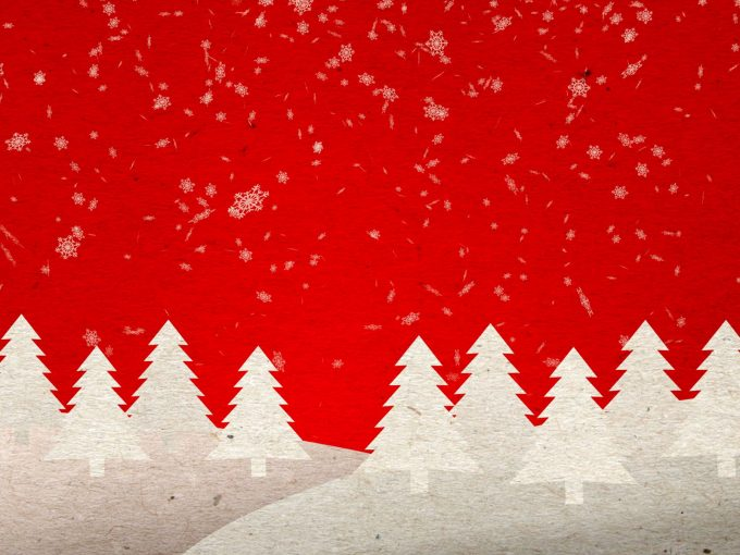 Christmas Tree PPT Backgrounds