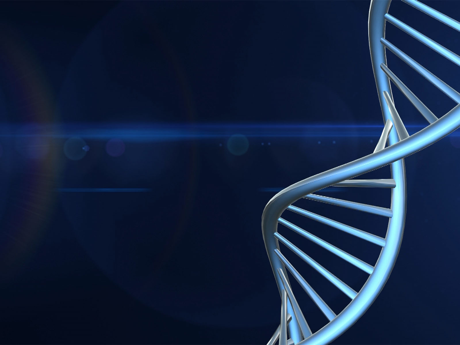 DNA Chains Powerpoint Background