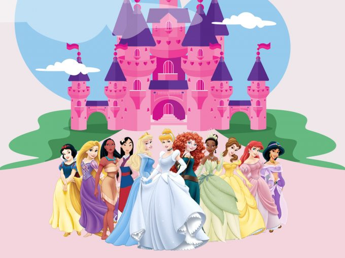 Disney Princesses PPT Backgrounds
