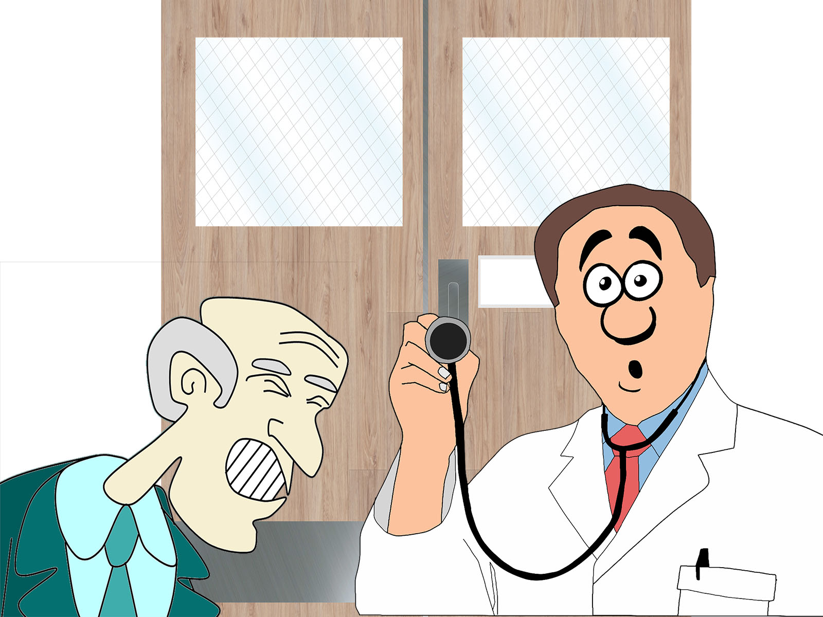 Doctor and Patient Powerpoint Themes