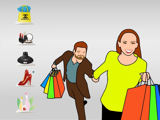 Enjoy Shopping PPT Backgrounds