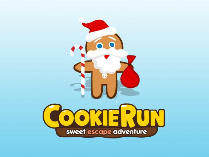 Ginger Claus Cookie Run PPT Backgrounds