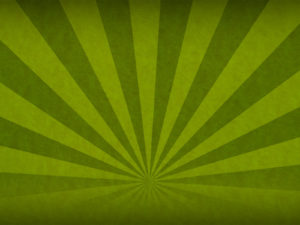Green Sunbeam Powerpoint Backgrounds