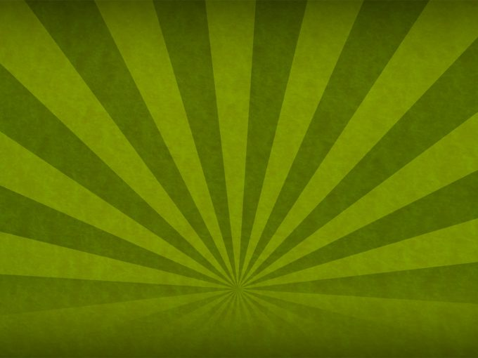 Green Sunbeam PPT Backgrounds