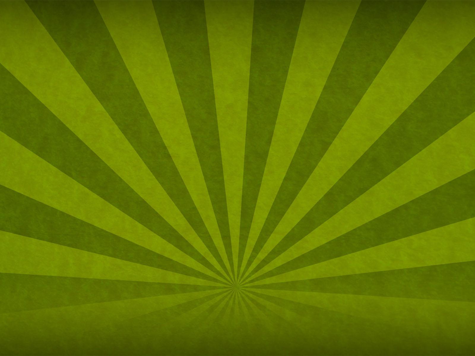 Green Sunbeam Backgrounds Abstract Green Templates