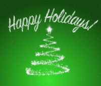 Happy Holidays PPT Background