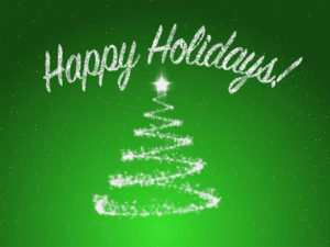 Happy Holidays PPT Background