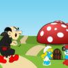 Smurfs Cartoon Powerpoint Backgrounds