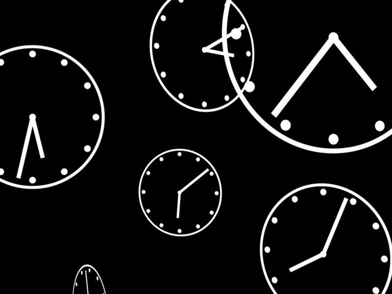 Clocks Loop Powerpoint Templates