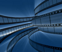 Rotating Film Reels Backgrounds