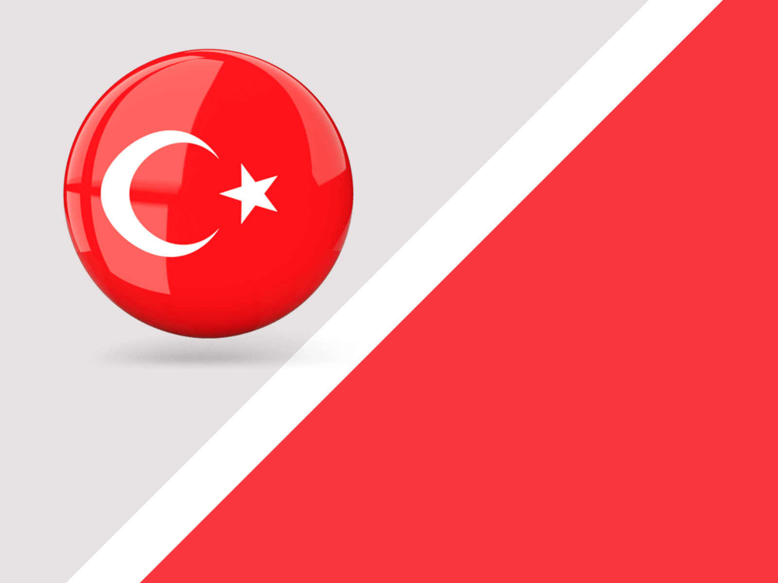 Turkish Flag Backgrounds Flag Red White Templates Free Ppt