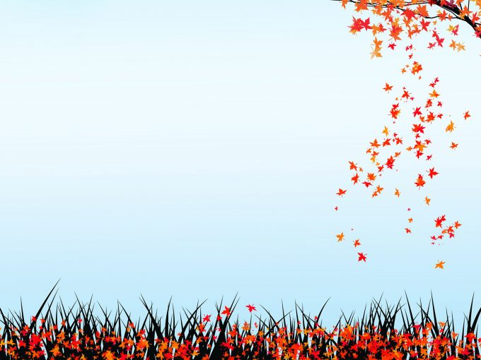 Autumn Nature PPT Backgrounds