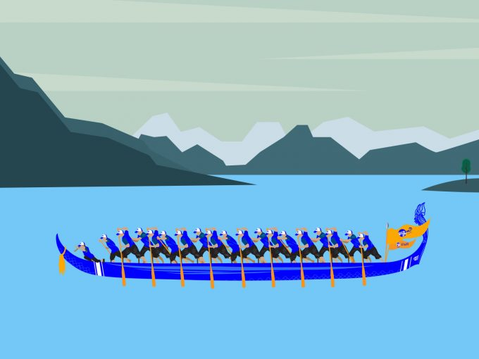 Boating Team PPT Backgrounds