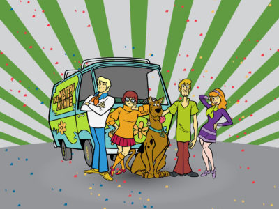 Scooby Doo Cartoon Templates