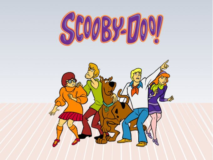 Scooby Doo Characters PPT Backgrounds