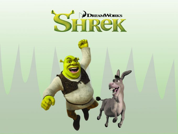 Shrek Cartoon Movies PPT Backgrounds