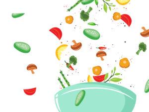 Healthy Food Vegetables Slide