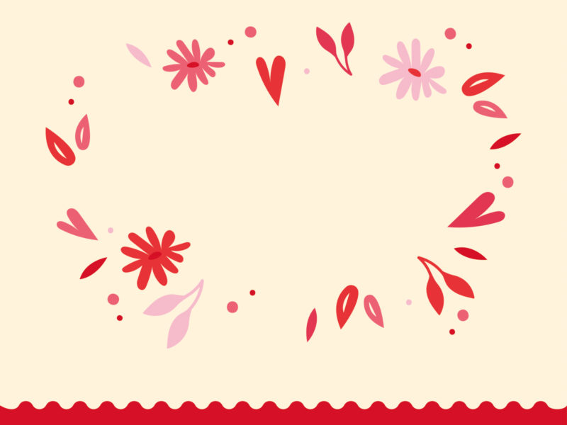 Love day ppt backgrounds