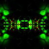 Abstract Bright Green