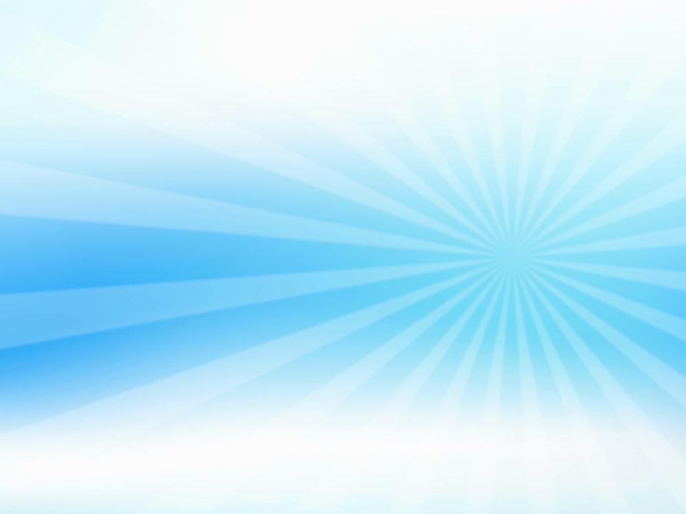 Abstract sunburst on gradient