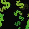 Green Dollars Background