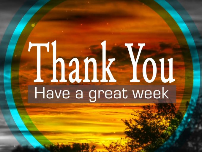 Have a great week PPT Backgrounds