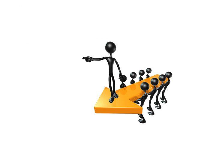 Leader management PPT Backgrounds