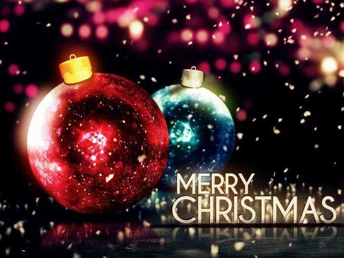 Merry Christmas Colorful PPT Backgrounds