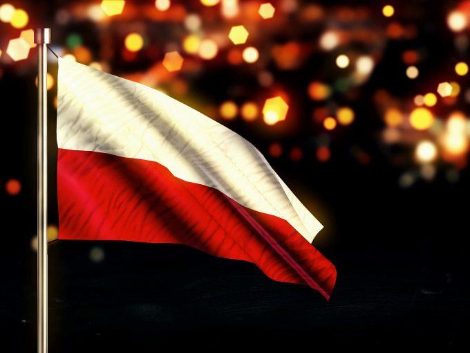 Poland National Flag PPT Backgrounds