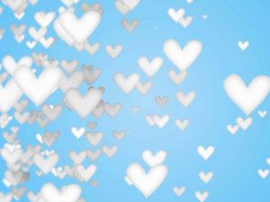 White Love Shape