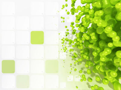 3D Pattern Green backgrounds