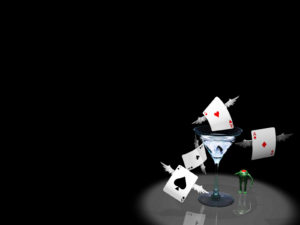 Poker Card PPT Backgrounds