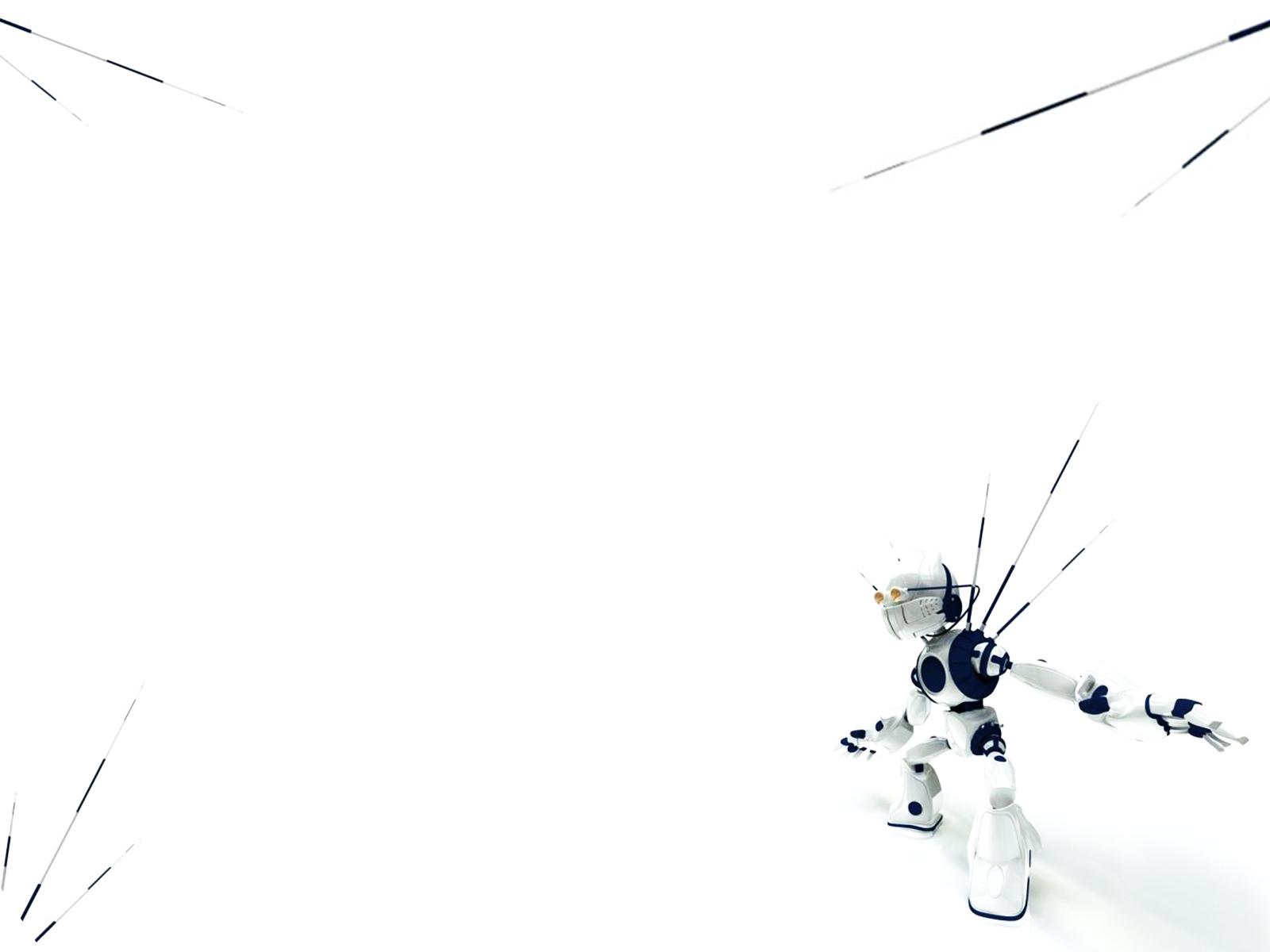 Smart Robotic Backgrounds | 3D, Cartoon, White Templates ...