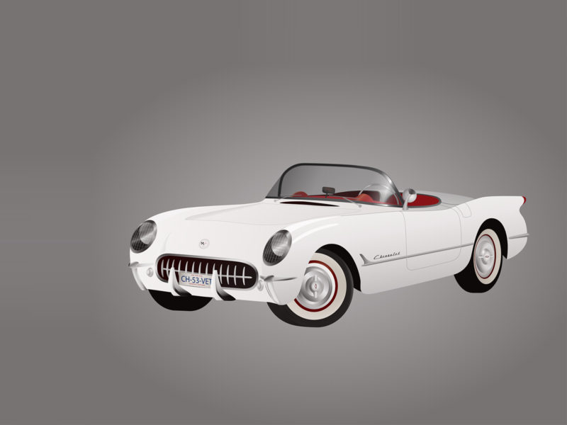 Classic Car PPT Backgrounds
