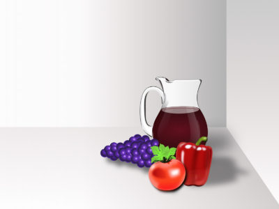 Grapes and Fruits Backgrounds